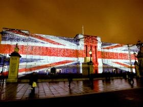 Proshots - Buckingham Palace Illuminated, London, England - Professional Photos
