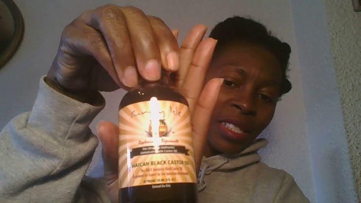 Jamaican black castor oil/ aceite de ricino  negro Jamaicano
