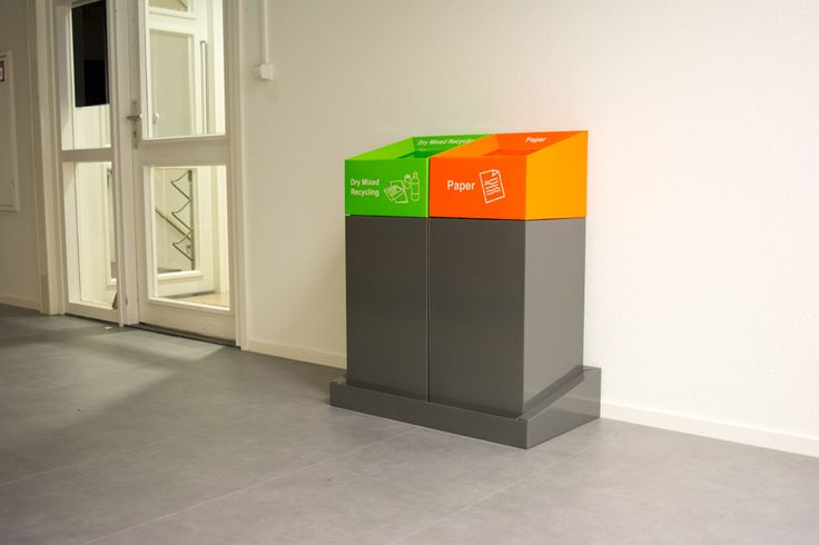 Recycling Console with Flute Branding
