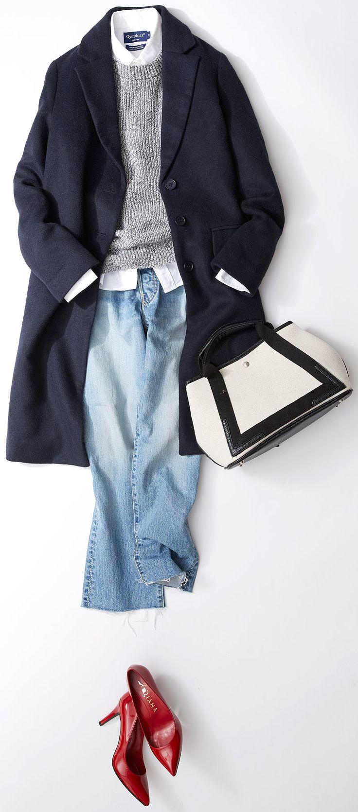 今週のレッスン:着膨れしない細見えコーデに挑戦(ルミネ有楽町) | LUMINE MAGAZINE