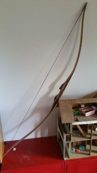 Arc traditionnel par Martaille - Arc traditionnel en lamellé collé (30# à 30'') premier d'une longue série j'espère car c'est vraiment plaisant de tirer avec l'arc que tu à réalisé Réalisé sur la base du longbow reflex/deflex (double...