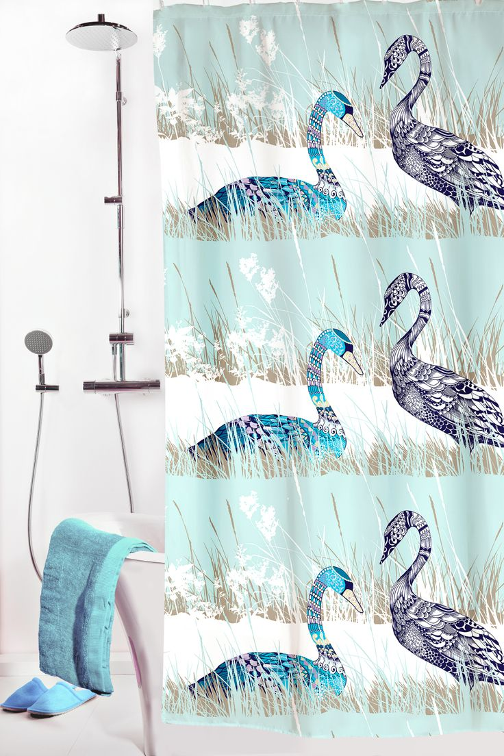 Vallila Interior - Laulu shower curtain