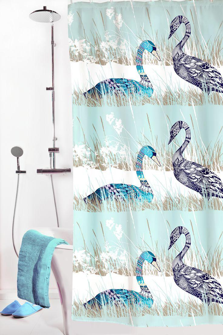 Vallila Interior - Laulu shower curtain