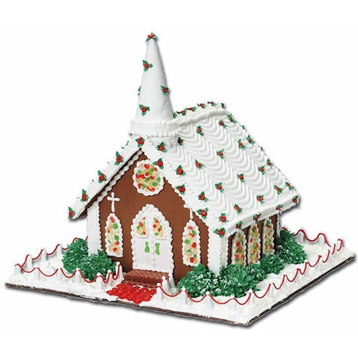 13 best Variedades images on Pinterest | Cake ideas, Christmas ... Gingerbread Church House Designs on church cakes, church family house, church snow, church autumn, church candy, church cupcakes, church country gingerbread recipe,
