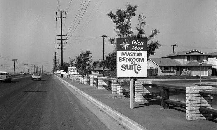 Brookhurst St. at Merrimac, Huntington Beach, circa 1965