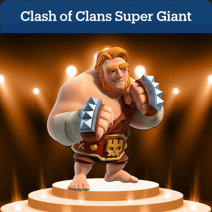 Clash Of Clans Super G In 2021 Clash Of Clans Clash Of Clans Gems Rustic Man Cave