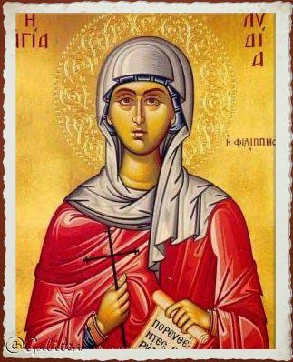 Santa María, Madre de Dios y Madre nuestra: Santa Lidia, 3 de Agosto