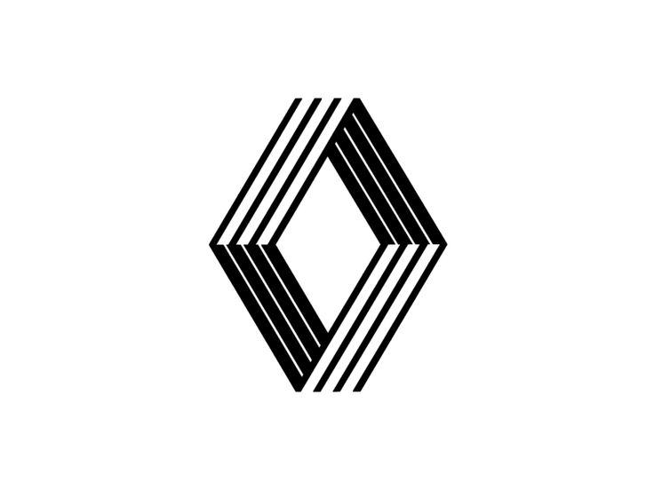 Renault diamond logo
