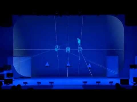 elevenplay dance performance with drones at Spiral Hall - YouTube