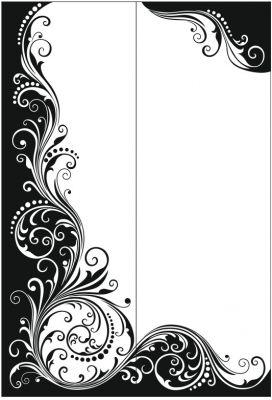 Цветочный  узор №313