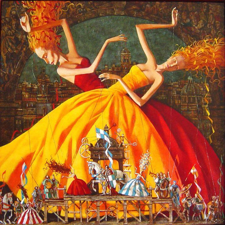 Les deux marionettes - Roman Zaslonov