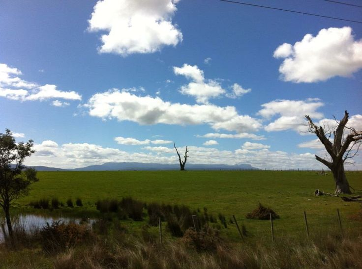 Somewhere in the north of Tasmania