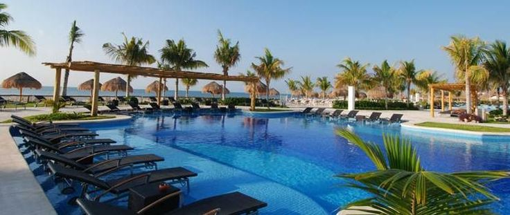 BlueBay Grand Esmeralda Resort timeshare promotion and vacation travel club special.  Get a 5 night all inclusive stay here for qualifying for and attending a timeshare presentation.  Americans and Canadians get 5 nights all inclusive for $599 throughout most of the year, except holidays!