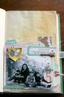Happy Little Moments Book- first page by Veronica_Milan