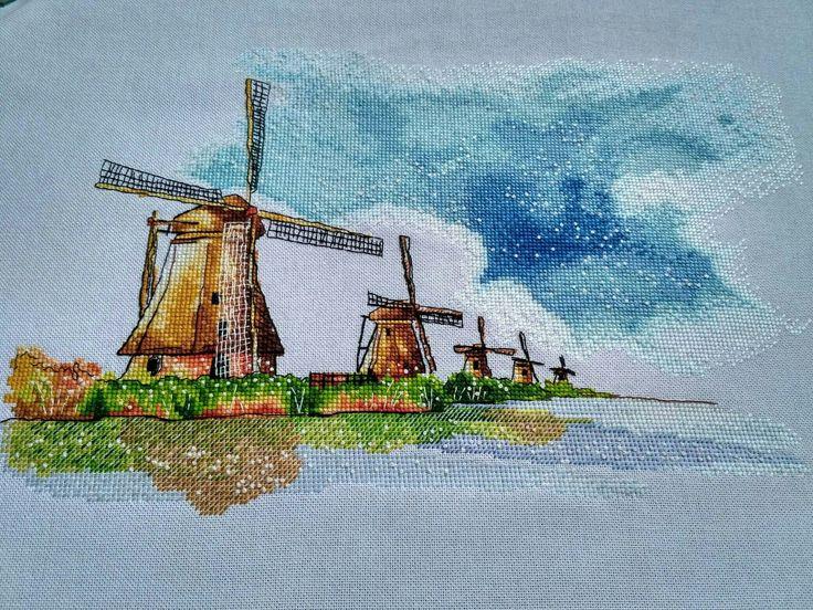Вышивка крестом art stitch