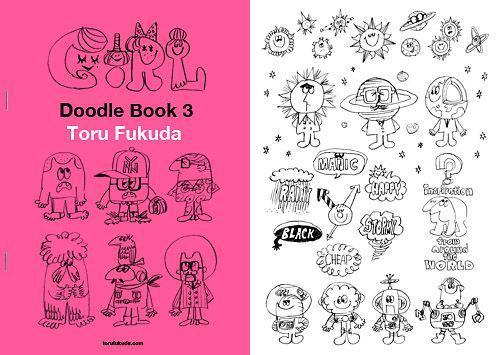 Doodle Book 3 発売中です! こちらの商品は既に販売終了となりました。 たくさんのお買い上げどうもありがとうございました。 お問い合わせは下記をクリック! contact us