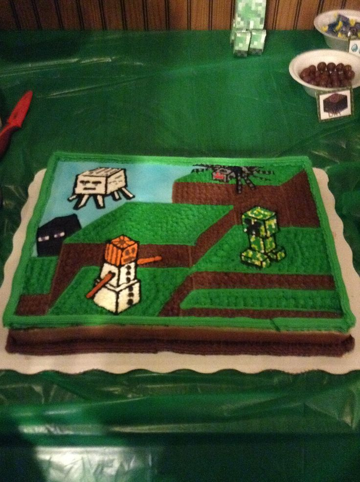 16 Best Minecraft Bday Party Images On Pinterest