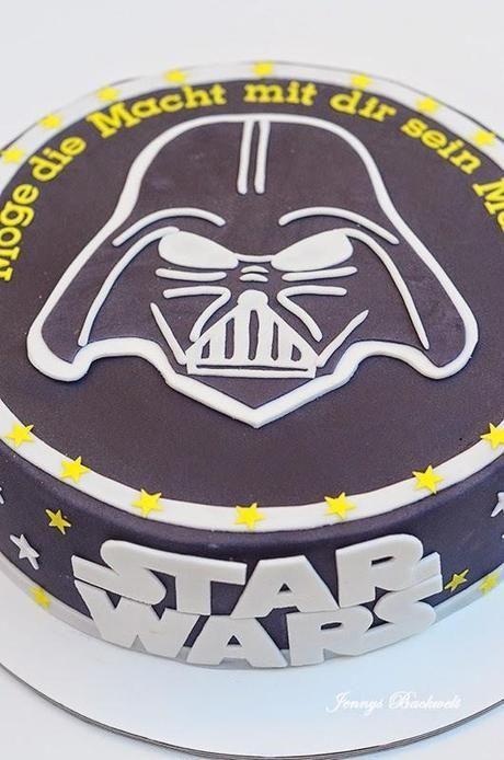 Elegant Star Wars Torte