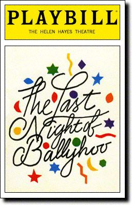 "an analysis of the last night of ballyhoo play by alfred uhry Advertise contact us issue theme calendar  jason robert brown and alfred  uhry reflect on the legacy of 'parade'  uhry had just written the last night of  ballyhoo, a comedy about a 1930s jewish  brown invited uhry over to his  house and played the opening number, ""the old red hills of home."