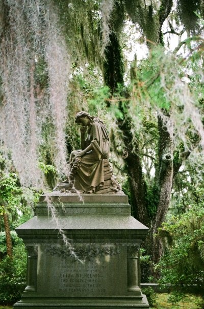 My Favorite Pic from Bonaventure Cemetary in Savannah, Georgia.