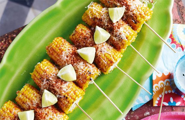 Street-style grilled corn