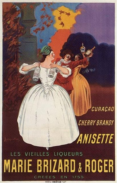 Anisette Marie Brizard & Roger 1912