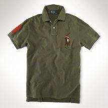 ralph lauren uomo in caffe colore big pony polo.Ralph Lauren POLO camicia militare movimento verde, sensazione maturo.Come è possibile contattare:Annapolo888@gmail.com