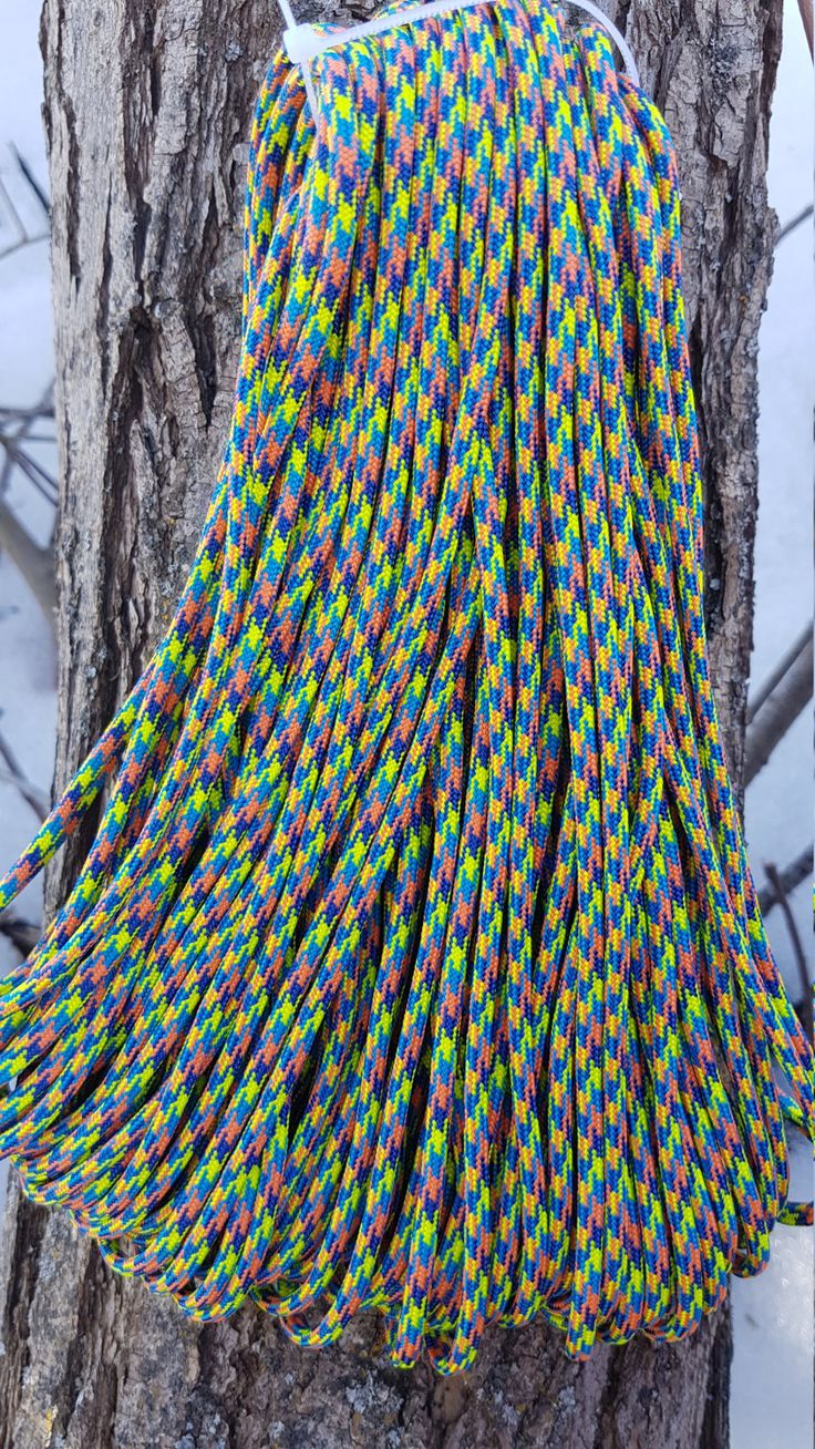 550 Paracord Type III 7 Strand Nylon Parachute Cord Made in the USA Swaeter by BrodsParacord on Etsy