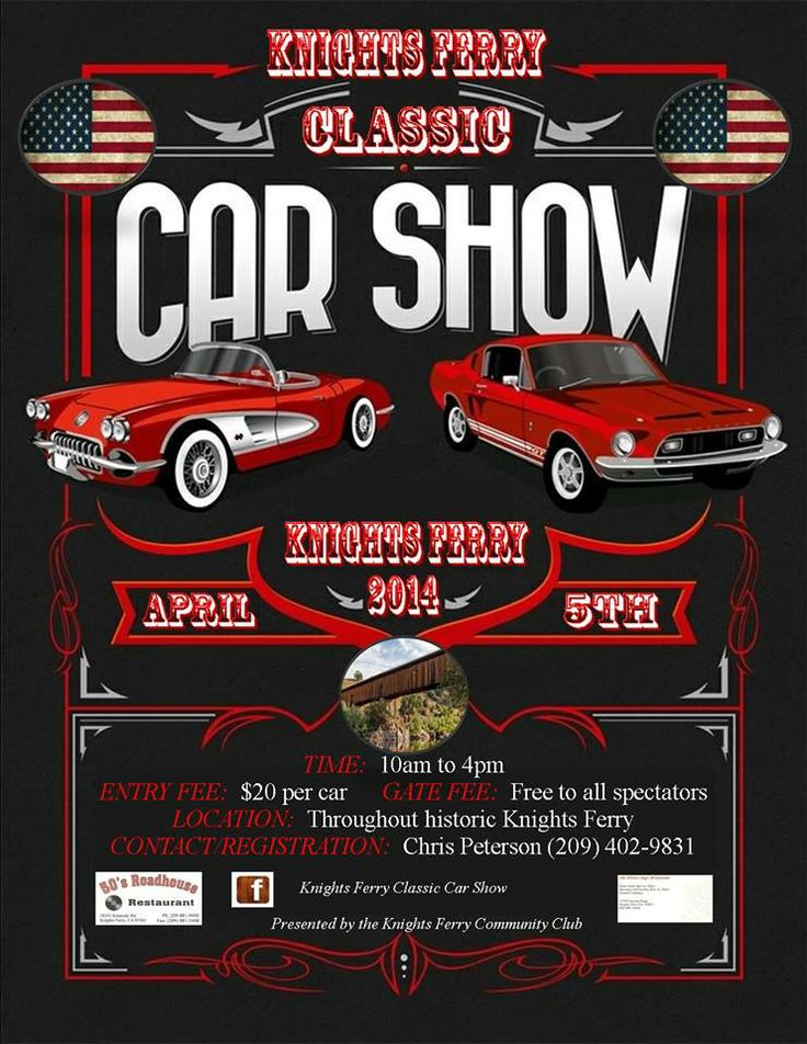 Best Car Show Flyers Images On   Flyers Cruises And