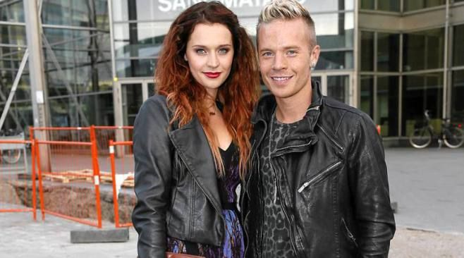 Mia Ehrnrooth and Sauli Koskinen came to take a look at high fashion.