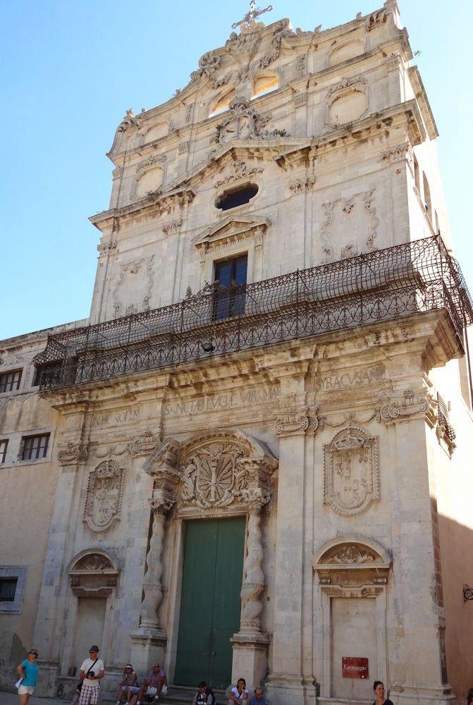 Voyage en Sicile - Syracuse - historic building #travel #tourism #italy #sicily #syracusa