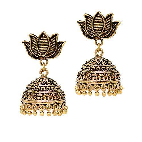 Bollywood Style Oxidised Lotus Flower Partywear Jhumka Ea... https://www.amazon.com/dp/B01KL0P7L0/ref=cm_sw_r_pi_dp_x_d6R6xbD4NNHZ3