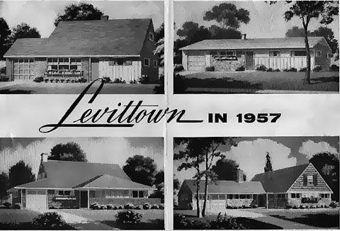 Levittown in 1957
