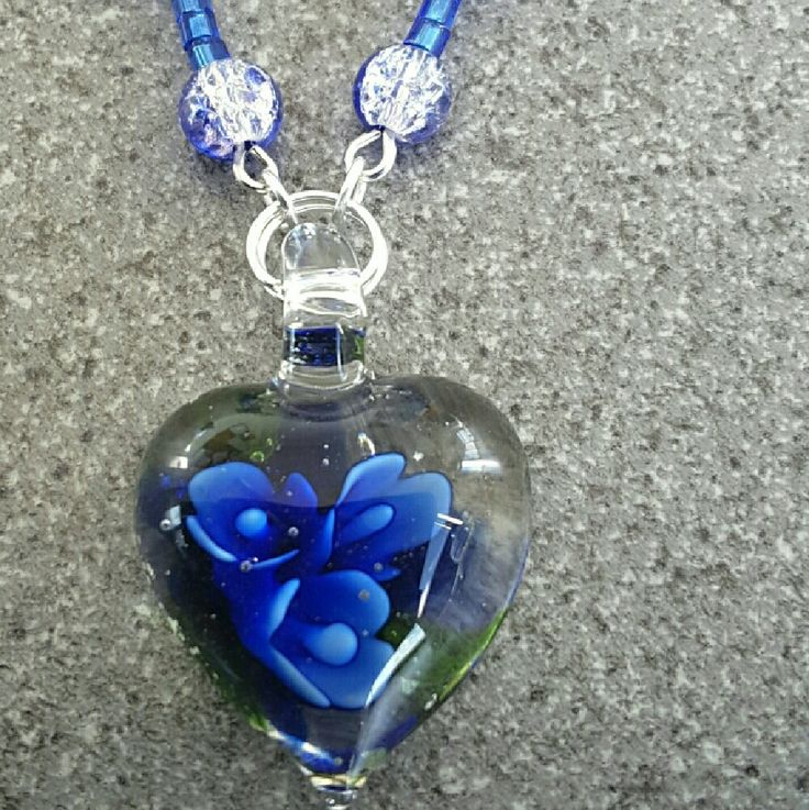 Hey, check out what I'm selling with Sello: Handcrafted glass pendant necklace http://twistedhazelbeautifulgifts.sello.com/shares/rXXn7