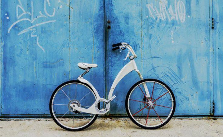 Gi bike: a bicicleta elétrica, dobrável e que recarrega seu smartphone