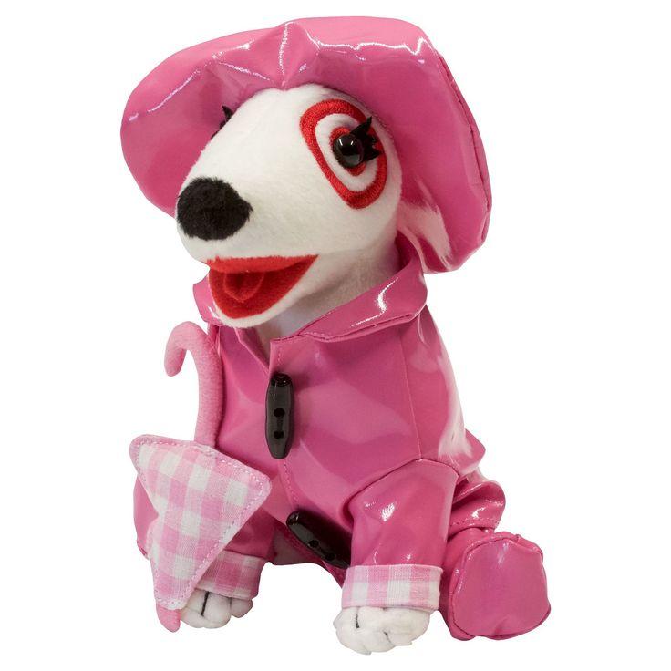 Pink Raincoat Girl Bullseye (set of 5)
