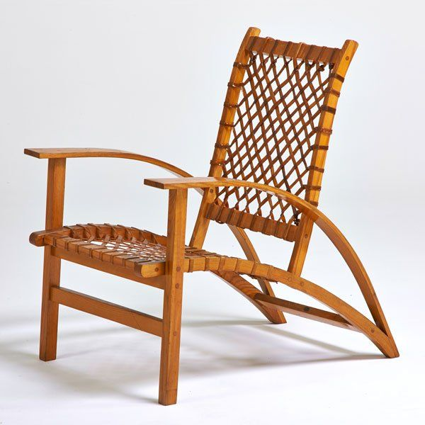 Superb CARL KOCH; VERMONT TUBBS , Snowshoe Chair