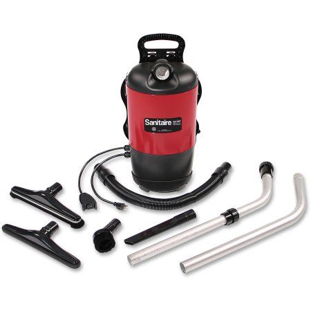 Sanitaire Electrolux Backpack Vacuum, Red