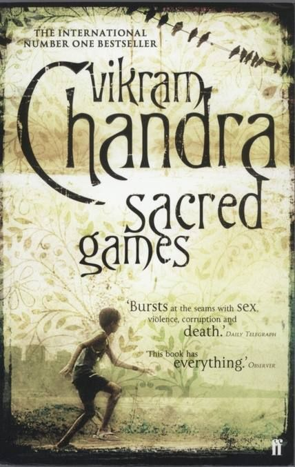Sacred Games (2006) by Vikram Chandra The criss-crossing paths of a cop, Inspector Sartaj Singh, and the country's most-wanted gangster, Ganesh Gaitonde. This is a book about the Mumbai underworld and about the city itself  Read our interview with Vikram Chandra here - http://read.ht/fsc