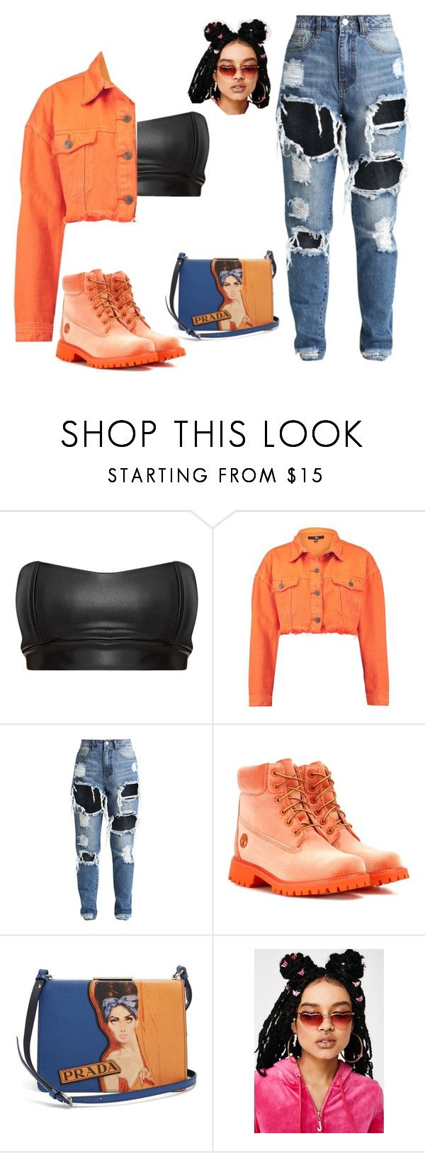 """""""idek"""" by jadahart on Polyvore featuring Off-White, Prada and Replay"""