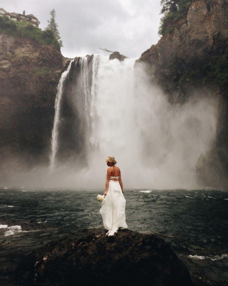 Waterfall wedding | Benj Haisch | VSCO Grid