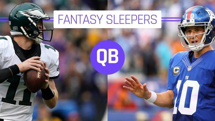 NFL Fantasy Football 2017: Sleeper Quarterbacks for Your Consideration