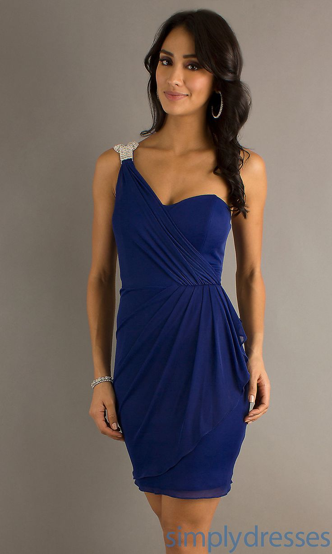 Short One Shoulder Dresses - Dress images