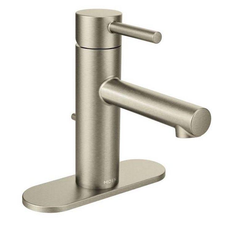 moen align 6190bn brushed nickel bathroom faucet brushed nickel