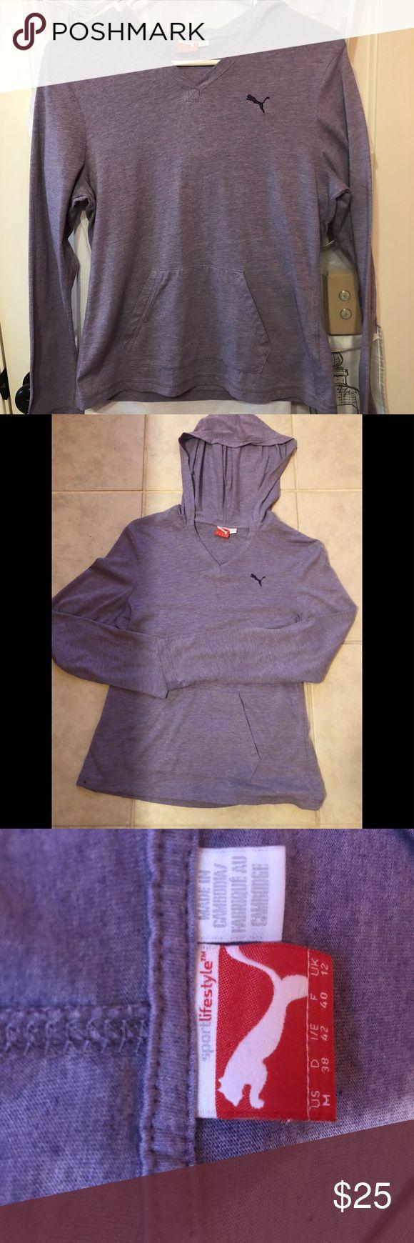 Puma sport lifestyle hoodie. Puma Lifestyle hoodie  purple size medium Puma Shirts & Tops Sweatshirts & Hoodies