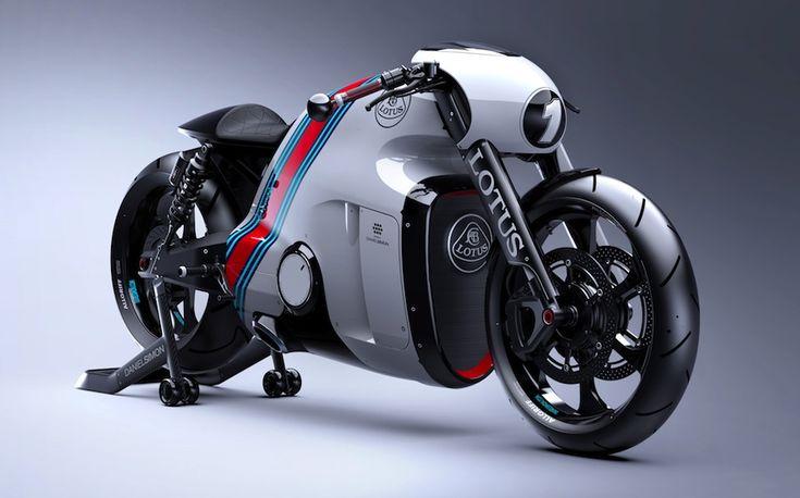 「ロータスC-01」トロン:レガシーのデザイナーが手掛けた超クールなバイク|Idea Web Tools | 自動車とテクノロジーのニュースブログ