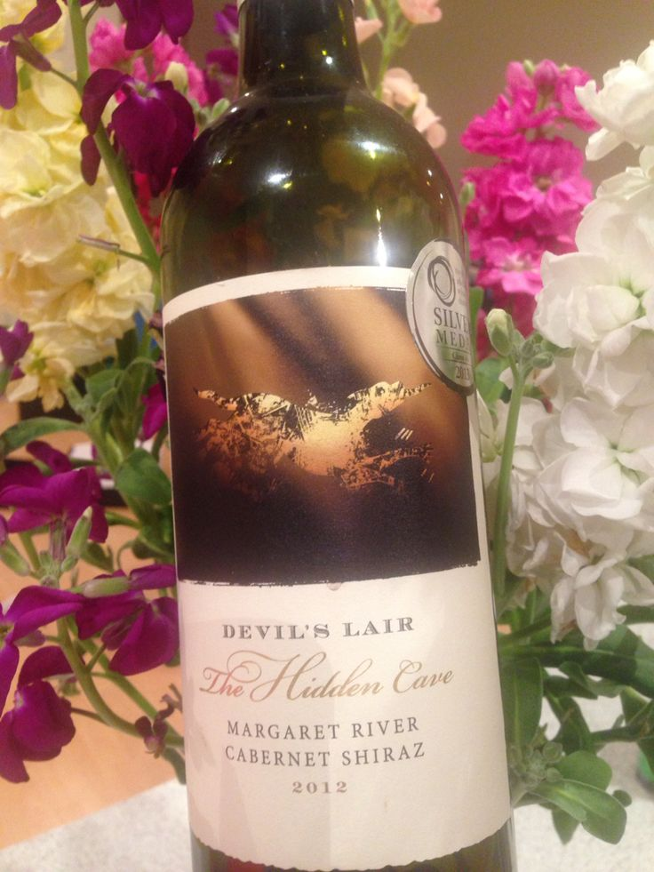 40 years ago archeologists stumbled upon a hidden cave in the Margaret River, Western Australia. In this cave they found evidence of early human occupation and the remains of a Tasmanian Devil, thus giving the Devil's Lair it's name. Cabernet Shiraz 2012