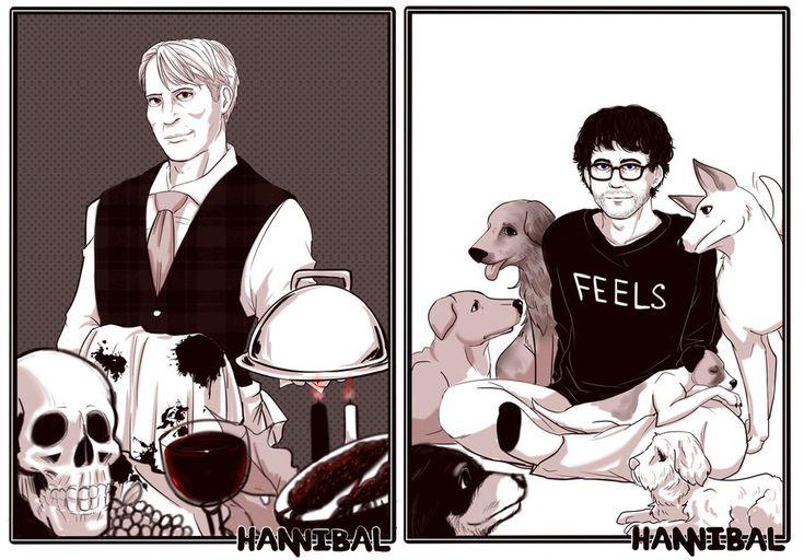 (nbc Hannibal) Food And Feels by blacktenshi22.deviantart.com on @deviantART