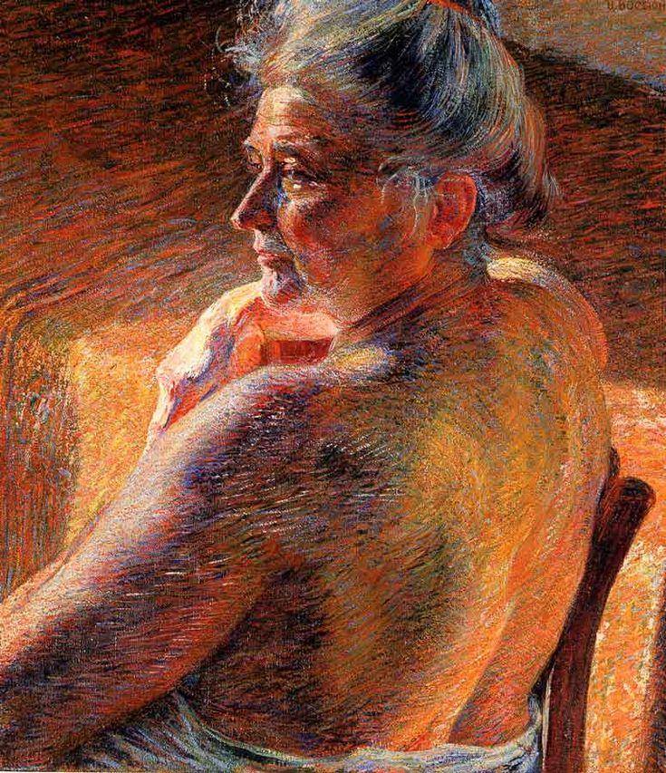 Umberto BOCCIONI - La madre, 1909