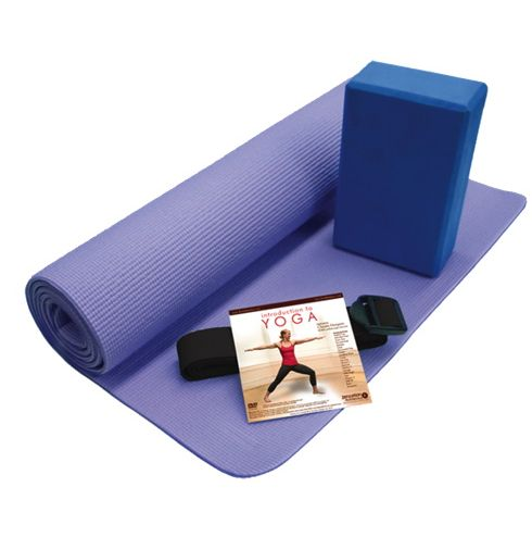 As far as #yoga kits go, this one from Zenzation Athletics has everything you'll need. However, I did notice the Introduction to Yoga Kit does not contain a yoga block but the Deluxe Kit does. In my view, anyone just starting out with yoga could use a block because it helps you safely and comfortably reach some poses that you might not otherwise be able to. If you're a beginner and wondering which kit to get, the deluxe one might be better. @VIVA from Best Buy #yogamat  #yogaDVD #yogablock